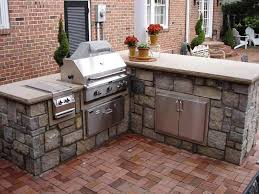 Outdoor Kitchen Cabinet Kits L Shaped Outdoor Kitchen Island Kits 2017 And Pictures Granite