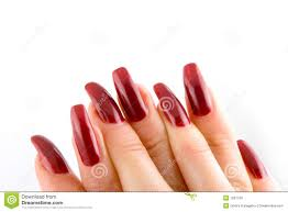 woman beautiful long nails royalty free stock images image 7837739