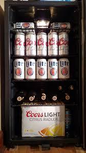 coors light beer fridge review beer fridge fewd snobs