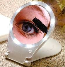 bright light magnifying mirror lighted magnifying travel mirror lighted home travel mirror