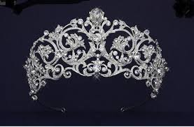tiaras for sale regal 2 1 2 rhinestone scroll wedding tiara wedding