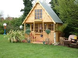 small wooden playhouse ideas for the house pinterest wooden