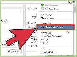 create facebook fan page how to create a facebook fan page 9 steps with pictures