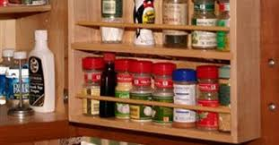 Red Spice Rack Accessories Kitchen Craft