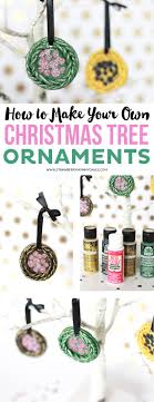 how to make your own tree ornaments printable crush