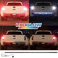 Led Lights Amazon Amazon Com Ledglow 60 Inch Truck Tailgate Led Light Bar Turn