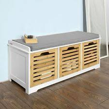 cool amazing shoe storage bench with cushion 44 for small home