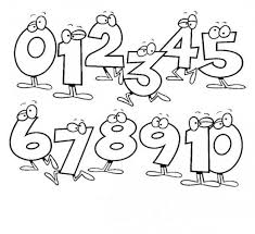 preschool coloring pages with numbers number coloring pages 1 10 printables coloring pages online