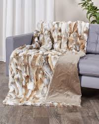 Pottery Barn Fur Blanket Blanket Ideas Grey Faux Fur Throw Blanket Faux Wolf Fur
