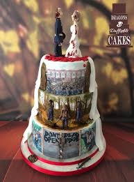 walking dead cake ideas the walking dead wedding cake cake by dragons and daffodils