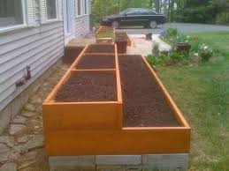 Wood For Raised Vegetable Garden by Best 20 Raised Herb Garden Ideas On Pinterest Raised Gardens