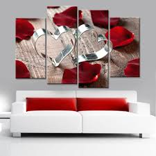 popular lovely pictures flowers buy cheap lovely pictures flowers drop shipping love and rose flower print on canvas art painting poster wall modular pictures