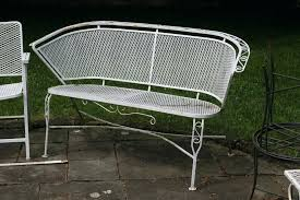 Antique Wrought Iron Outdoor Furniture by Vintage Woodard Patio Furniture U2013 Smashingplates Us