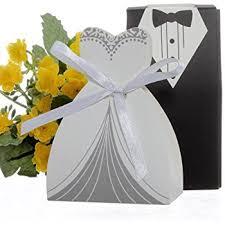 wholesale wedding favors cnomg 100pcs wedding favor dress tuxedo