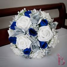 wedding flowers royal blue royal blue wedding bouquet something blue wedding