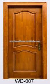 luxury modern wooden front double bedroom door design view double