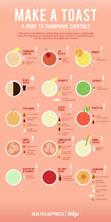 christmas cocktails recipes a guide to champagne cocktails visual ly
