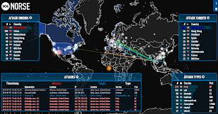 World Time Map Citon Computer Corp Real Time Map Shows Magnitude Of Cyber