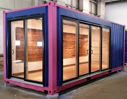 adaptive re use and recycling shipping containers with pioneer