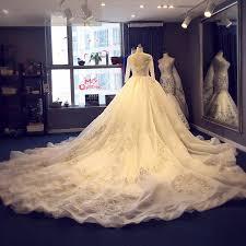 wedding dresses made to order 2017 luxury royal wedding dresses 2017 sleeves illusion
