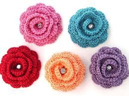 Crochet Designs Flowers Crocheting Creatys For