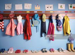 childrens coat rack in stock photo getty images