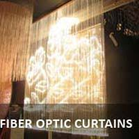 Fiber Optic Curtains Lighting Product Manufacturer Offered By Shine Illuminations New Delhi