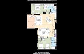 Tamarack Floor Plans by Club Wyndham Wyndham Vacation Resorts At Glacier Canyon