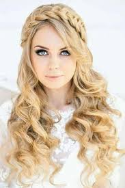 country hairstyles for long hair trenza con bucles hair pinterest hair style country