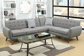 Sectional Sofas Fabric Gray Sectional Sofa 150 Off Velvet 3pcs Double Chaise Sectional