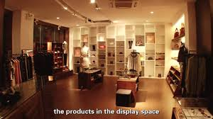 led lighting design project for clothing shop with led focus