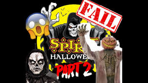 spirit halloween props funniest spirit halloween prop fails part 2 youtube