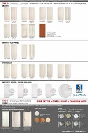 Flush Interior Door by Moulded And Flush Interior Doors Brochure Dan U0027s Windows And