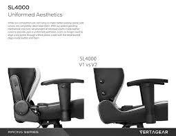 Mechanical Chair Amazon Com Vertagear Racing Series S Line Ergonomic Office Chair