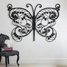 sui oversized butterfly wall decor black pbteen