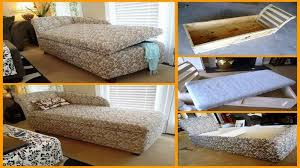 Diy Chaise Lounge Chaise Lounge With Storage