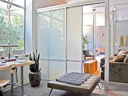 Glass Room Divider Doors Sliding Glass Room Dividers U0026 Office Partitions Modern New