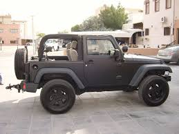 graphite jeep wrangler just jeeps on jeeps matte black and doors
