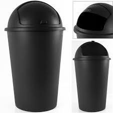 poubelle plastique cuisine poubelle ronde cuisine couvercle basculant rigide achat vente