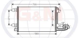 21073 by Audi Heat Exchanger 1k0 820 411 F G H G U0026m Group Catalogue