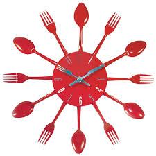 Pendule Murale Cuisine by Horloge Murale Cuisine Rouge Belle Cuisine Nous A Fait à L U0027aise