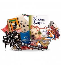 Soup Gift Baskets Chicken Soup For The Dog Lover U0027s Soul Gift Basket Pet Gift