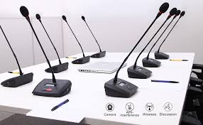 digital meeting room sound system video conference unit central