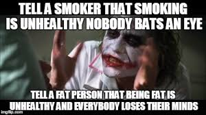 Smoker Meme - and everybody loses their minds meme imgflip