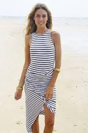 dress black and white dress black and white stripes striped