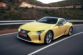 lexus is made by whom lc named production car design of the year