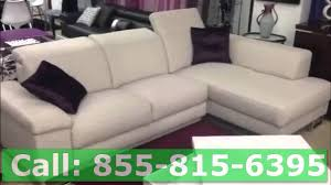 wohnlandschaft rom deimos leather sectional sofa by rom showroom view youtube