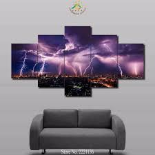 Okc Thunder Home Decor Online Buy Wholesale Thunder Painting From China Thunder Painting