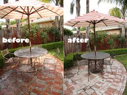 new paint job for patio furniture mt friendship