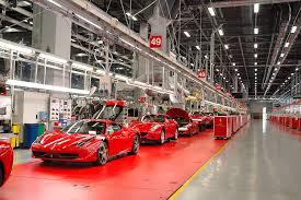ferrari factory building завод феррари взгляд изнутри viaggio club